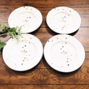 Kate Spade Market Street Collection Dinner Plates